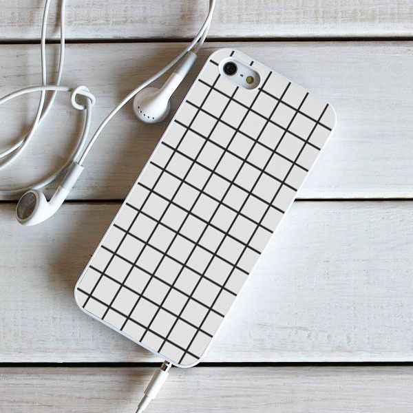 Tumblr Grid White - iPhone 6S, iPhone 5 5S 5C, iPhone 6 Case, plus Samsung Galaxy S4 S5 S6 Edge Cases - Shadeyou - Personalized iPhone and Samsung Cases