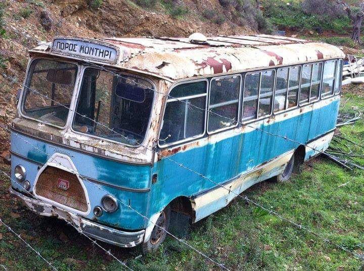 Hino Greek Bus Poros Island