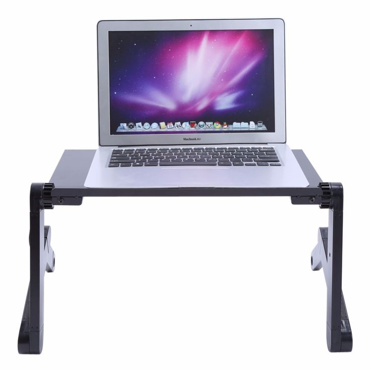 Adjustable Portable Laptop Table Stand Lap Sofa Bed Tray Computer Notebook Laptop Stand Desk Table With Mouse Board