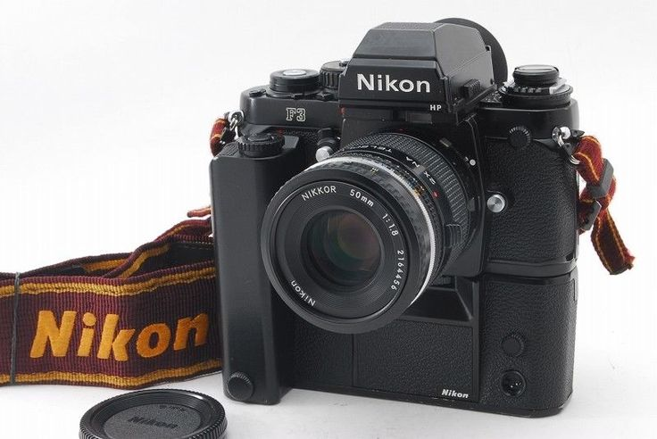 【NEAR MINT】Nikon F3 SLR w/  Ai-s Nikkor 50mm f/1.8 Pancake Lens From Japan #140 #Nikon