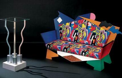 Kandinskij Sofa by Alessandro Mendini