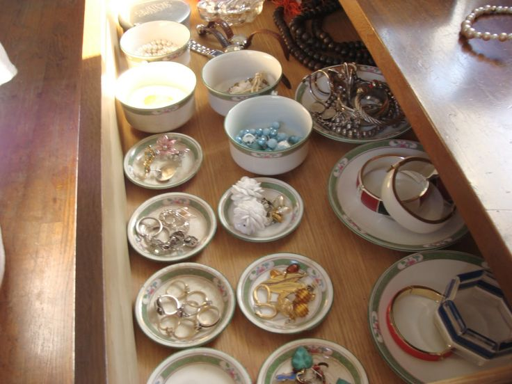 Using Bowls And Plates From Daiso Jewelry Pinterest