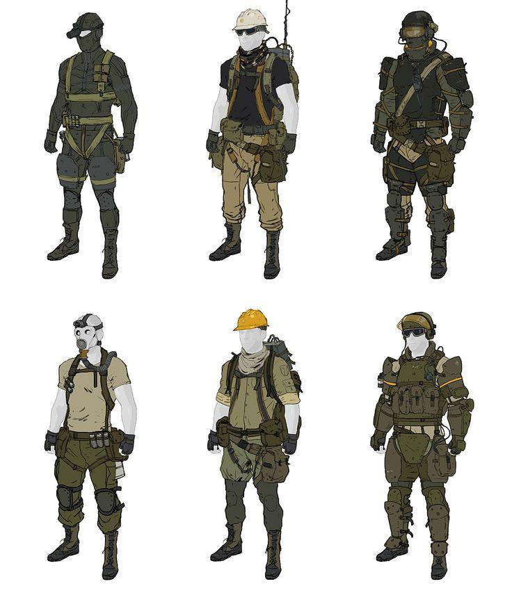 Gear Designs from Metal Gear Online