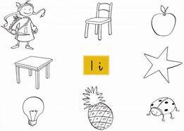 fichas de lectoescritura para niños