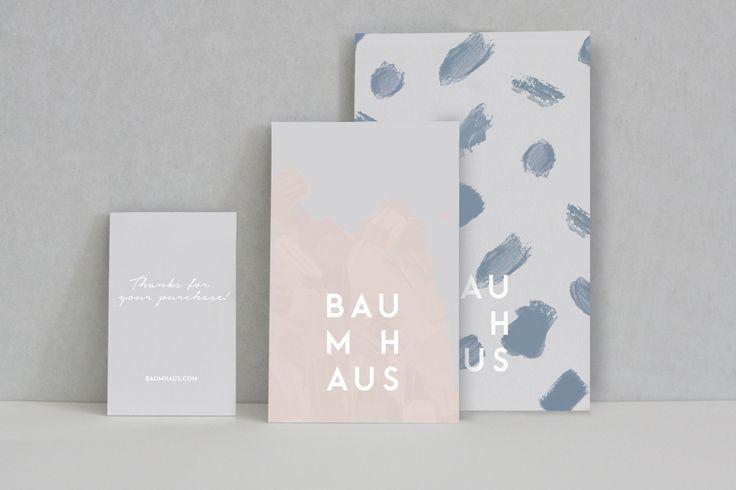 Im Baumhaus Concept Store wird es ausgewählte Produkte aus den Bereichen Interior, Mode, Accessoires und Kunst geben. Ich habe das Logo, das Corporate Design und die Bildsprache entwickelt. Creative Direction Anna Härlin