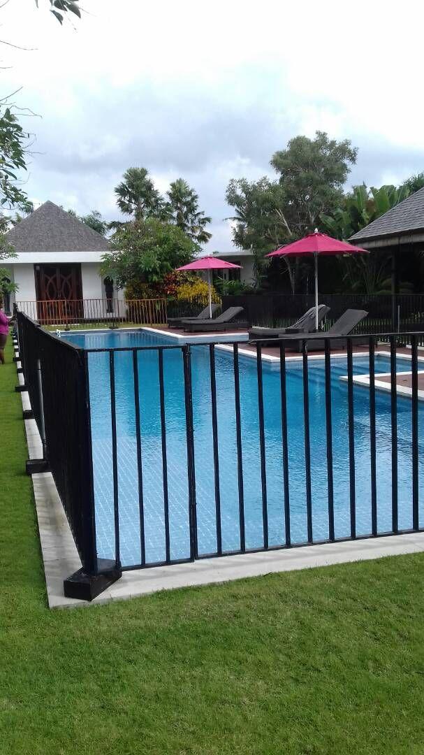 Best Pool Fence Ideas 2019 Inground Diy Safety Natural Inexpensive Pool Fence Diy Pool Fence Aluminum Pool Fence