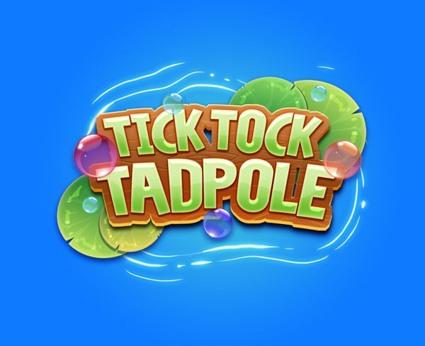 Tick Tock Tadpole by Rogie Custodio, via Behance