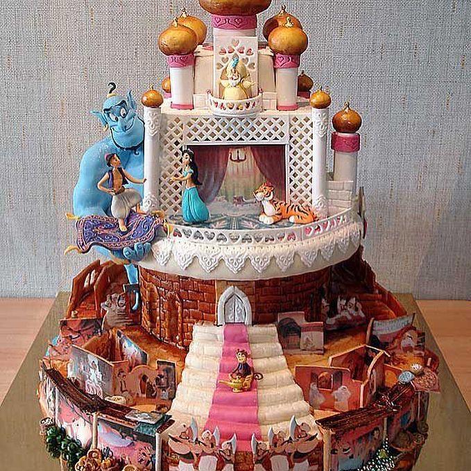 #cakes #Disney #beautiful #colorful #aladdin #jasmine #beautyandthebeast #belle #aliceandwonderland #alice #teaparty #tsumtsum #mickey #minnie http://misstagram.com/ipost/1563382982295437135/?code=BWyQIoLnD9P