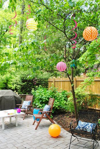 381 best outdoor party decoration images on pinterest marriage projects and events - Outdoor Party Decorating Ideas