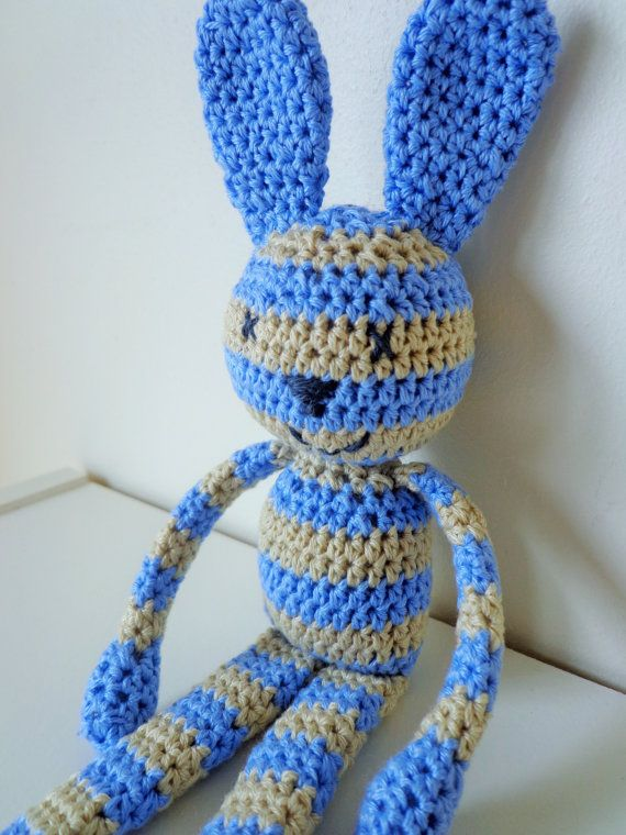 Stripy bunny rabbit