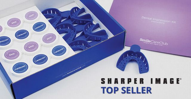 SmileDirectClub - At-Home Teeth Straightening System becomes Top Seller for Sharper Image in Less than One Year