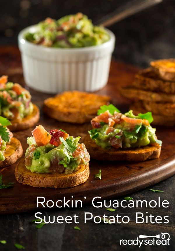 potatoes guacamole sweet minute holiday holiday apps potato bites ...