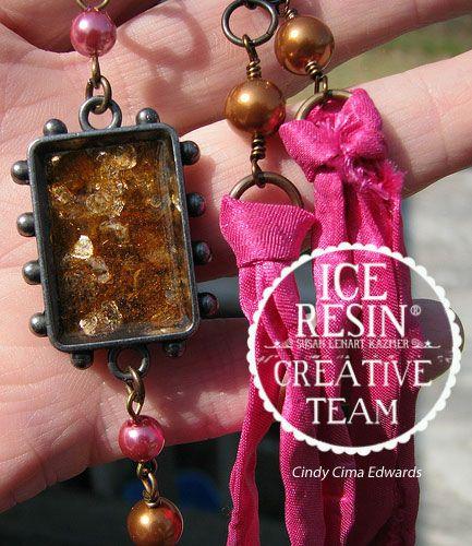 joyería de la resina de hielo