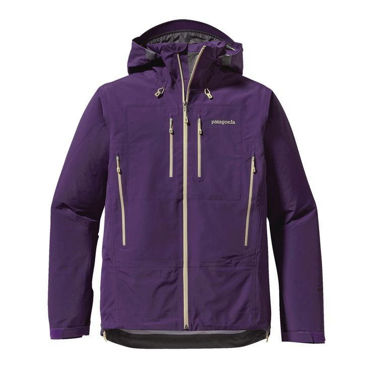 Patagonia Men's Triolet Jacket - The Triolet is built with bomber 3-layer nylon waterproof/breathable GORE-TEX® fabric for total weather protection when you're climbing or skiing in the backcountry.
