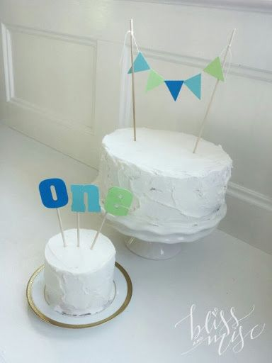 How to Make a Smash Cake baby boy one year old?