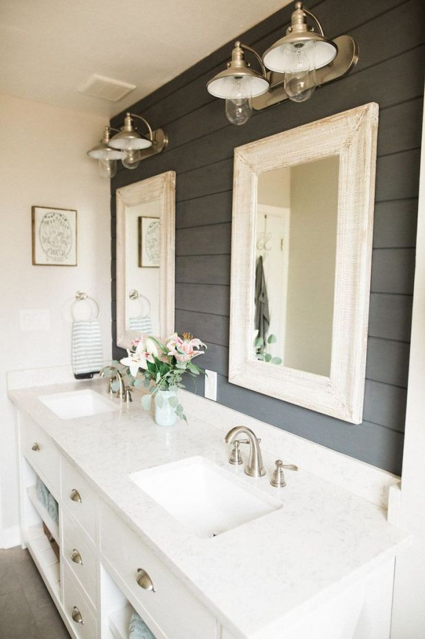 Image result for shiplap bathroom  Interior Design in 2019  Bathroom Shiplap bathroom Rustic