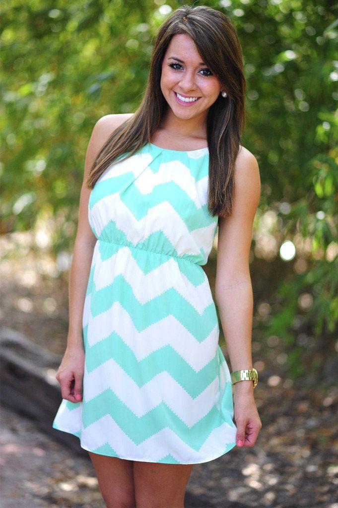 25  best ideas about Chevron dress on Pinterest | Mint chevron ...