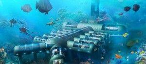 ENTÉRATE! Buscan ubicación para el primer hotel submarino del mundo