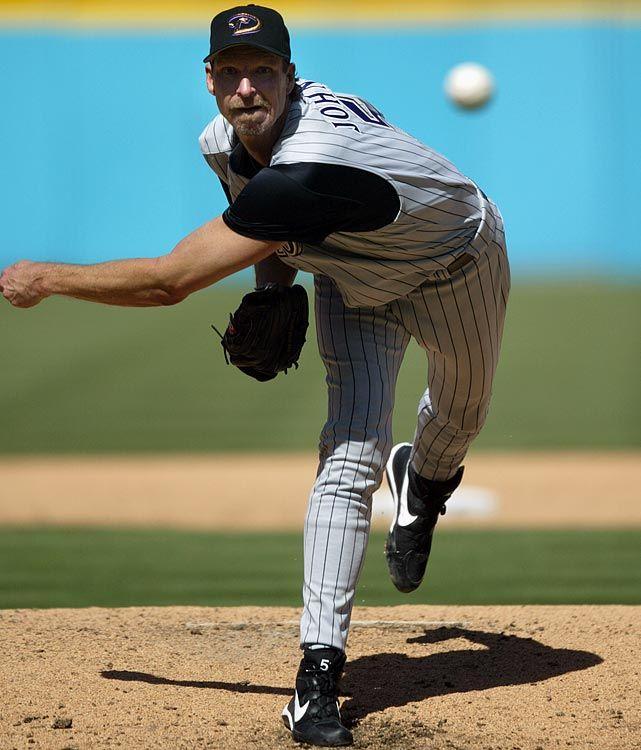 randy johnson - #17:  may 18, 2004.....arizona diamondbacks - 2 @ atlanta braves - 0