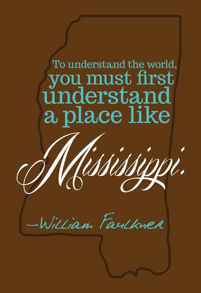 Great Faulkner print.