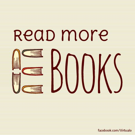 Read more e-books :)