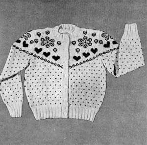 Girl's Sweater, Size 6-7 | Knitting Patterns