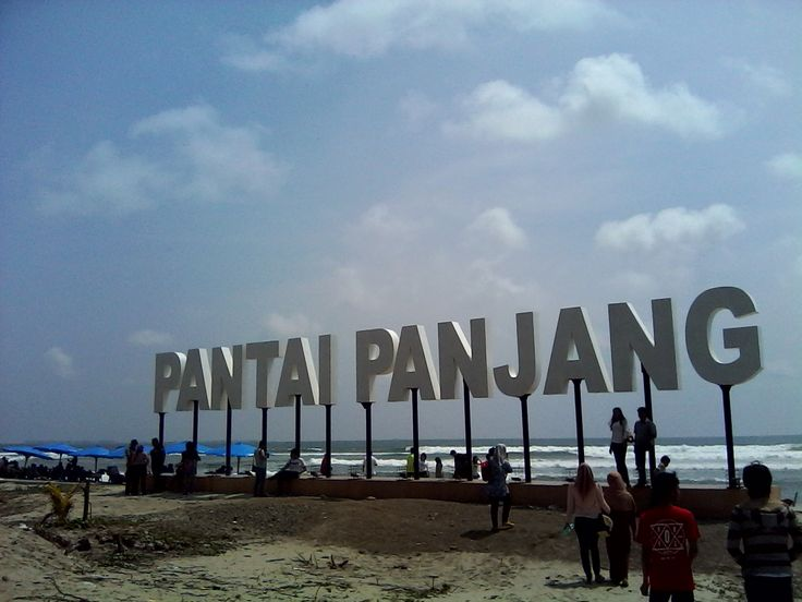visited bengkulu city, pantai panjang.