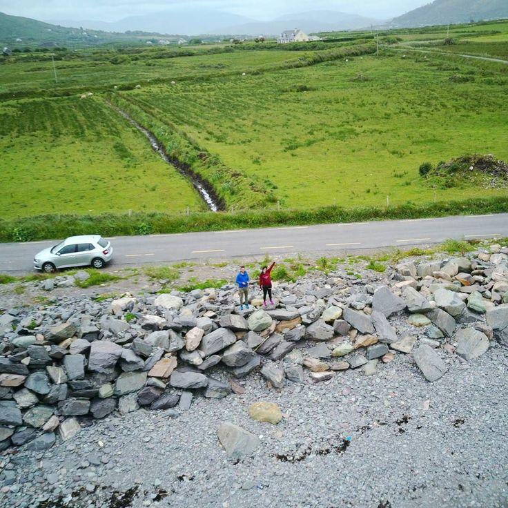 Roadtrip dronie in Ireland with @electra_asteri  #happytraveller #travel #explore #traveler #ireland #dji #mavic #mavicpro #aerialphotography #aerialphoto #worldtraveler #worldtravel