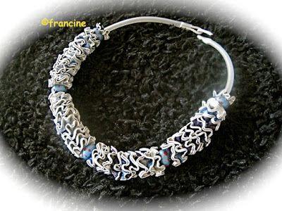 FRANCINE BRICOLE : Colliers et bracelets à fleurettes en Capsules Nes...