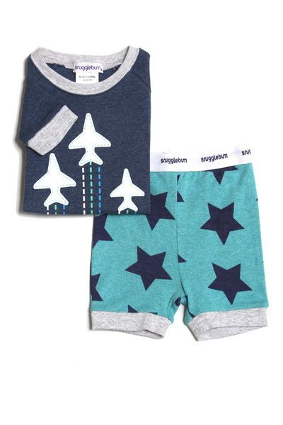 Gorgeous and soft new Snugglebum Boys Green Star Shortjohn