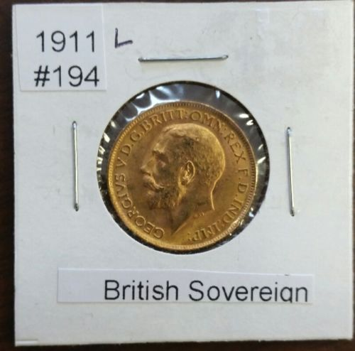 Spectacular 1911 British Gold Sovereign Gold Coin  No Mint Mark https://www.world-coin-collector.com/product/1911-british-gold-sovereign-gold-coin-no-mint-mark/ #Britain #GoldCoins