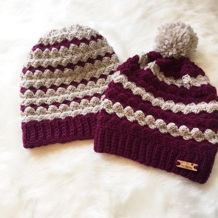 Twin Rivers Beanie Crochet Pattern 4.00