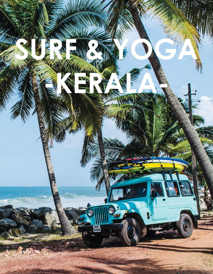 One for the bucket list... Surf and Yoga holiday in Kerala, India http://www.familytraveller.com/news/sunshine-surf-and-yoga-in-kerala-india