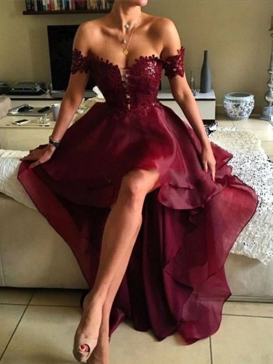 Awesome Charming Long Prom Dress, Appliques Prom Dress,Elegant Prom Dress,Long Evening