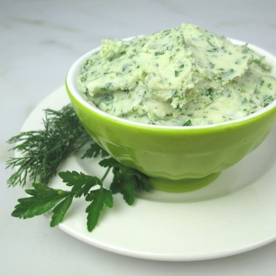 """Vegan """"Creme Cheese"""" Dip with Herbs. This dip will knock your socks off. Creamy and tart, it tastes like cream cheese, except it is dairy-free, made with coconut butter and lemon juice. I used fresh dill and parsley, it's also yummy with basil, sage, and cilantro. It makes a fantastic spread on crackers, or a dip for veggies, or anything you use cream cheese for. Just blend, chill and serve."""