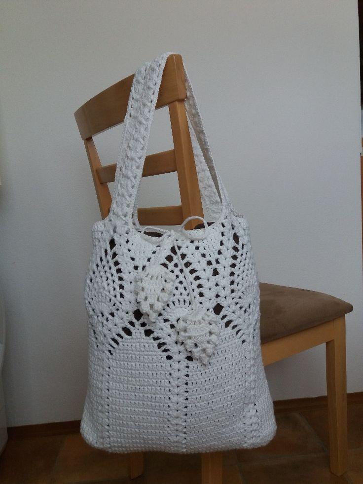 Pineapple top market bag-New written pattern on: https://emmhouse21.blogspot.com/2017/07/pineapple-top-marketshoulder-bag-full.html
