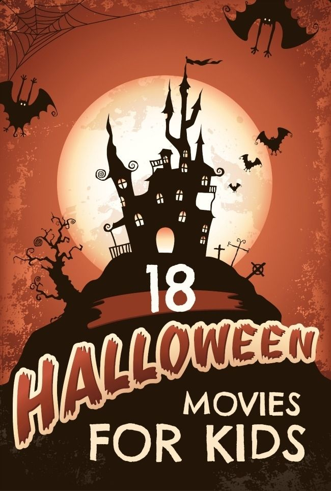 18 Halloween Movies for Kids www.spaceshipsandlaserbeams.com