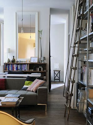 library ladders via Brabourne Farm