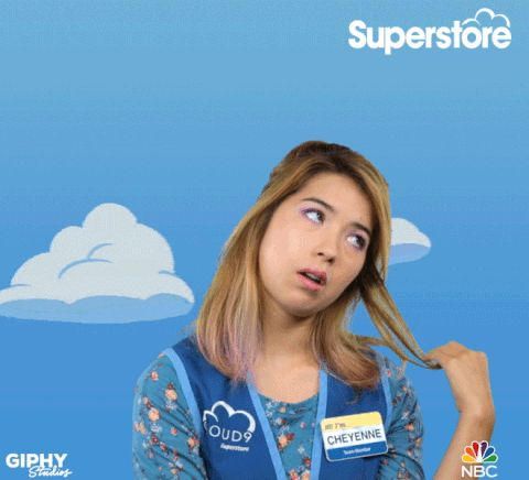 bored superstore nichole bloom #humor #hilarious #funny #lol #rofl #lmao #memes #cute