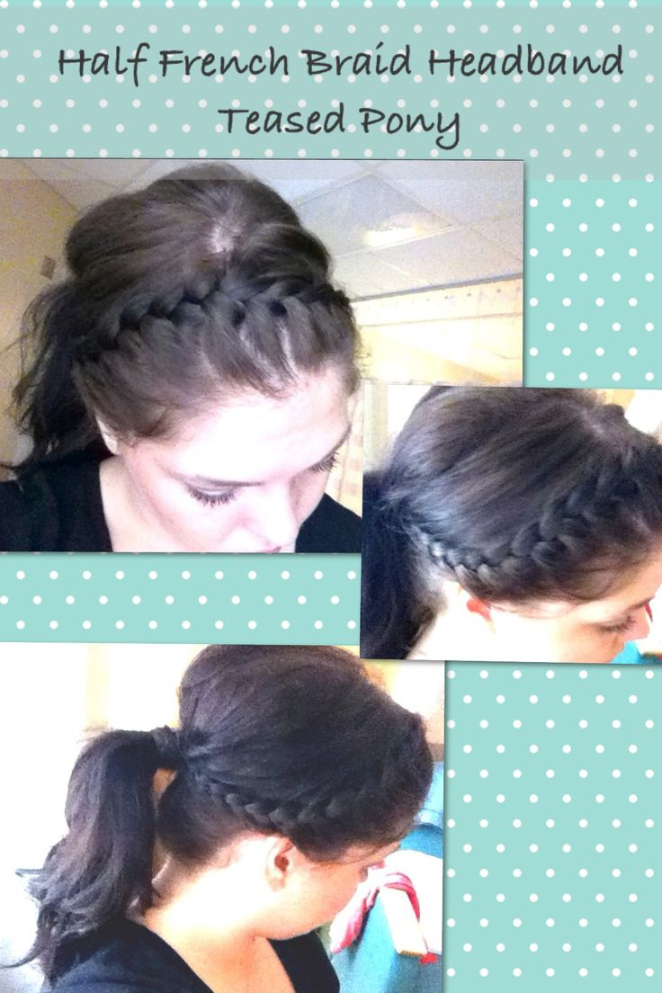 How to Do a French Braid Headband: 11 Steps (with Pictures)