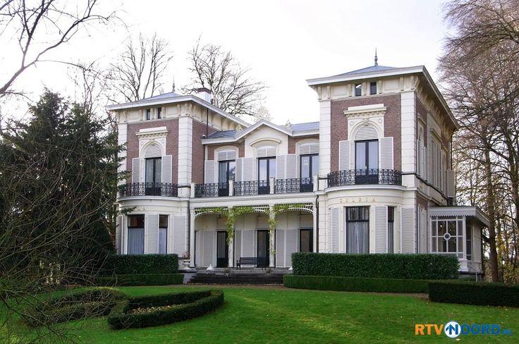 Villa Gelria, aan de Hereweg in Groningen. Mooi he, is zelfs nog als school gebruikt (sociale academie).