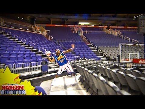 "109' 9"" World Record Basketball Shot!!! - YouTube"