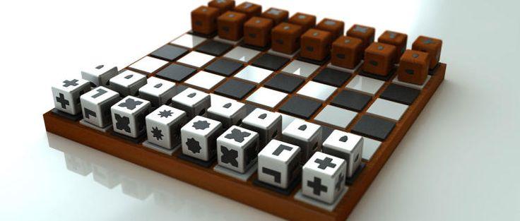 Шахматы-кубики