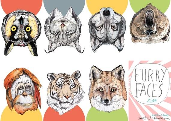 little Furry Faces zine