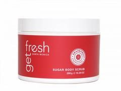 Energizing Grapefruit Sugar Body Scrub. Juicy, refreshing, exhilarating California Grapefruit is blended with French Cassis and embraced by notes of Rose, Georgia Peach and Sweet Plum. - Our Sugar Bod