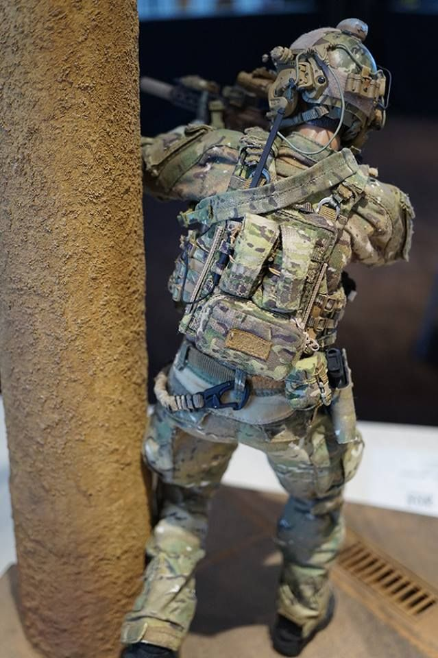 DELTA FORCE 2015- Figure build by nashew, Diorama base build