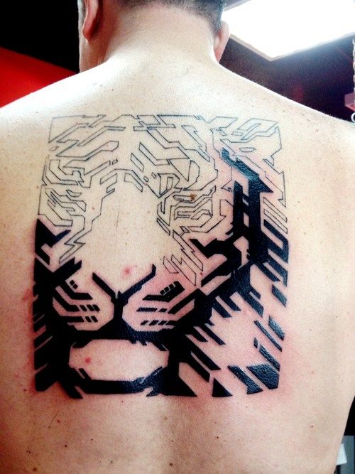26 best images about tattoo graphic on pinterest triangles back tattoos and tiger tattoo. Black Bedroom Furniture Sets. Home Design Ideas