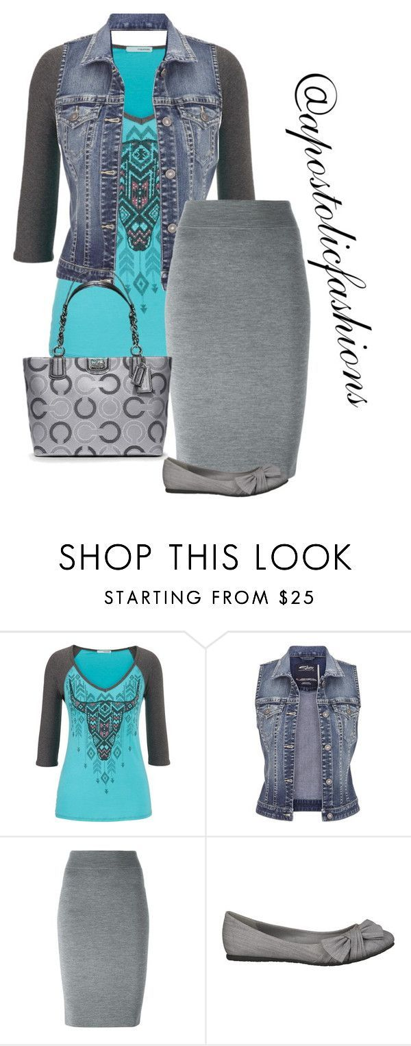 Apostolic Fashions #1457 by apostolicfashions on Polyvore featuring maurices, Alexander McQueen and Coach #casualskirt