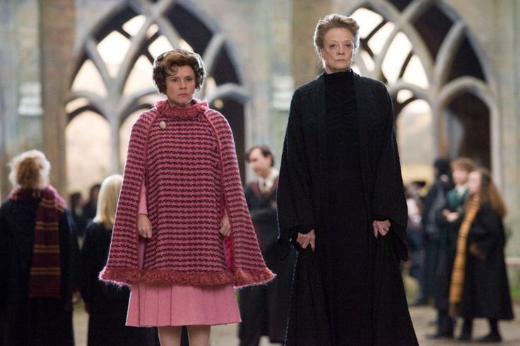 HARRY POTTER AND THE ORDER OF THE PHOENIX, from left: Imelda Staunton, Maggie Smith, 2007. ©Warner Bros.