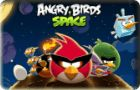 Angry Birds Space - http://www.allgamesfree.com/angry-birds-space/  -------------------------------------------------  Angry Birds go to space in search for eggs stolen by aliens. They jump in the sky through a portal that will lead to other planets. They will suffer a radical transformation in strange looks. Will have new powers that will help them to conquer new planets. With gravity you will succeed to spin...  -------------------------------------------------  #AngryB